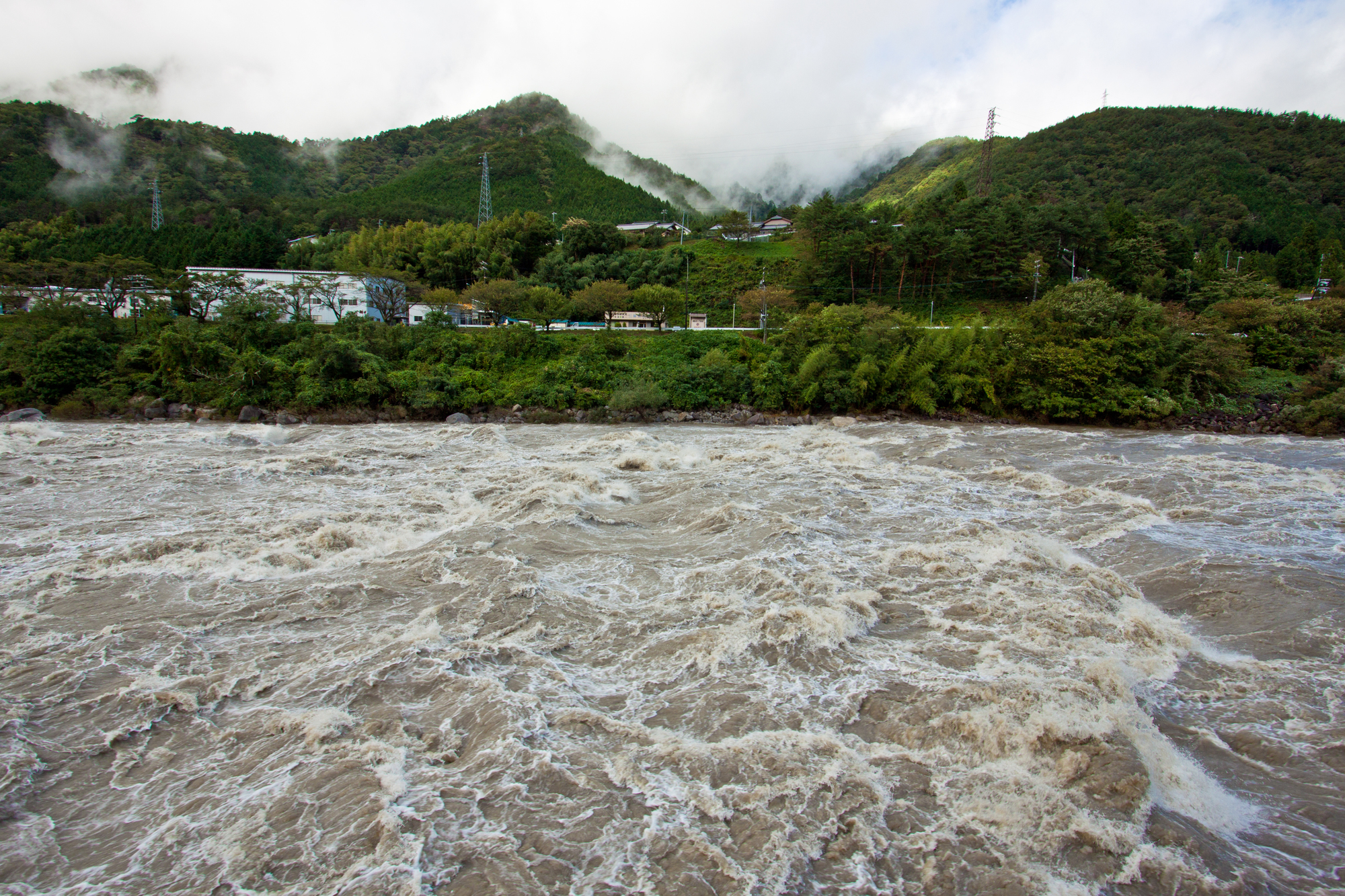 河川監視設備